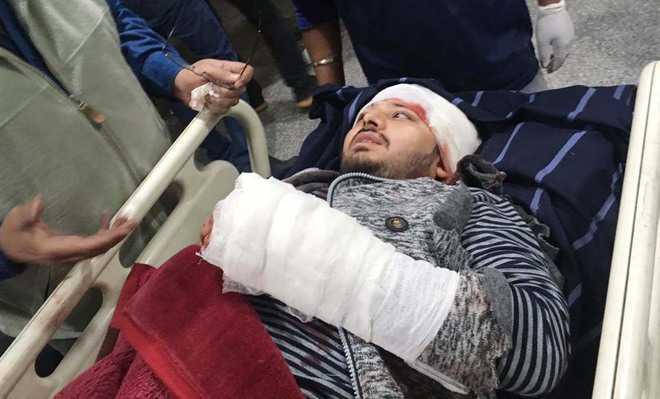 Property dealer, son attacked in Jalandhar