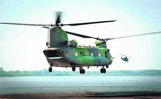 Chinook delivery to start in Feb