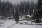 A view after fresh snowfall at the famous ski resort of Gulmarg in Baramulla District of North Kashmir, Friday, November 2, 2018. — PTI