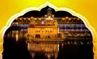 A view of the Golden Temple illuminated on the eve of Diwali festival in Amritsar, November 6. PTI