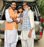 Live happy, live with pride: Big B wishes Aaradhya on birthday