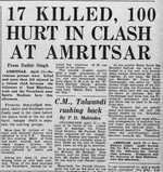 Sikh-Nirankari conflict peaked with 1978 clash