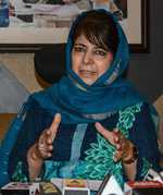India needs to show its liberal face to Kashmir: Mehbooba