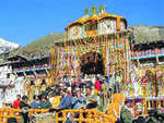 Badrinath portals closed for winter
