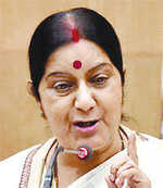 Sushma opts out of 2019 poll race