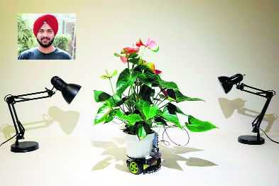 Patiala-born scientist comes up with plant-robot hybrid
