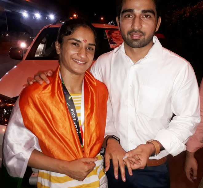 Vinesh to marry Somvir on Dec 13