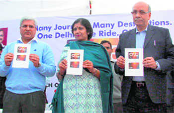 'One Delhi One card' for public transport users
