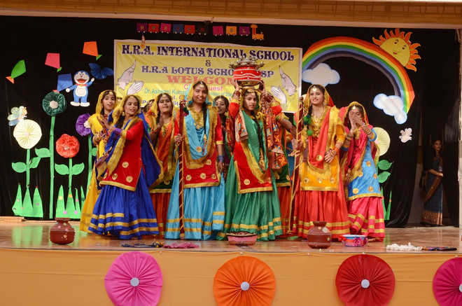 700 students take part in HRA schools annual day function