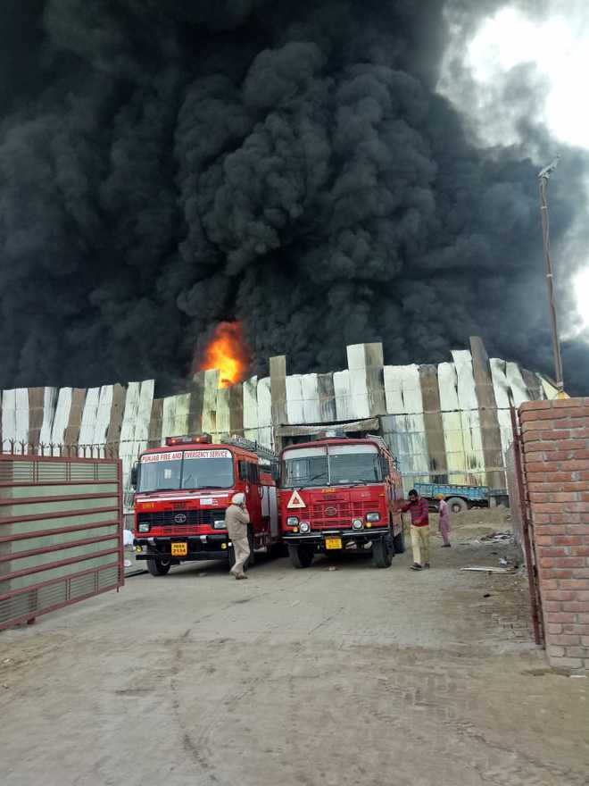 3 killed as fire breaks out at Barnala factory