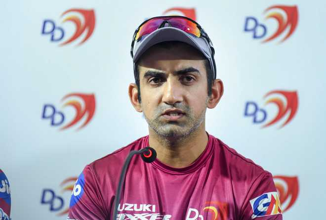 Gambhir retires, says noise of 'It's over Gauti' got to him finally