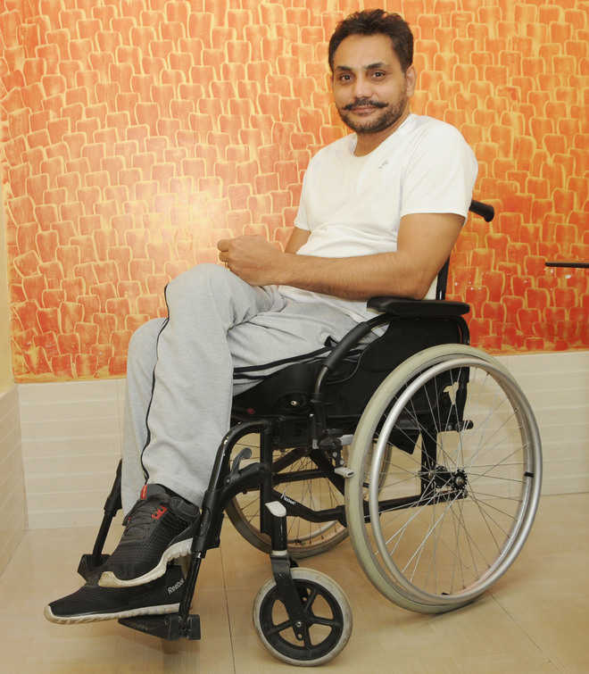 City man honoured for empowering disabled