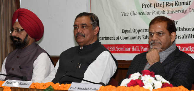 Centre working to make PU accessible to disabled: Sampla