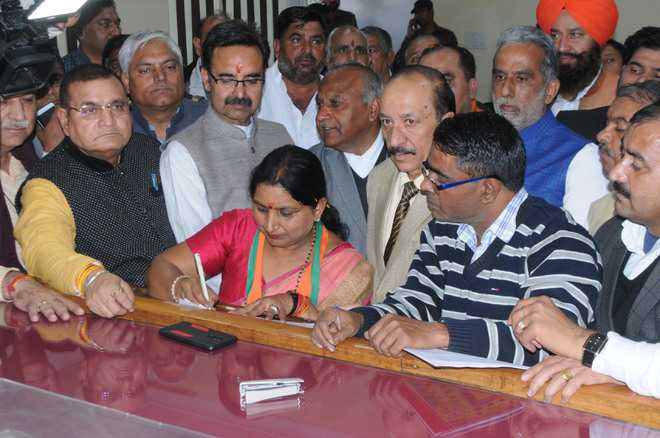 MC poll: 37 file papers in Karnal