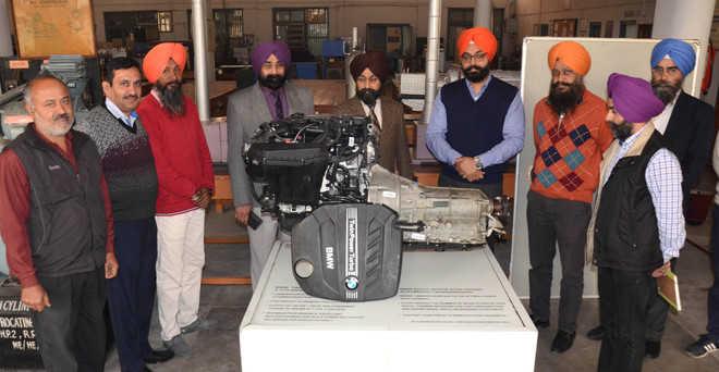 BMW donates engine to GNDEC