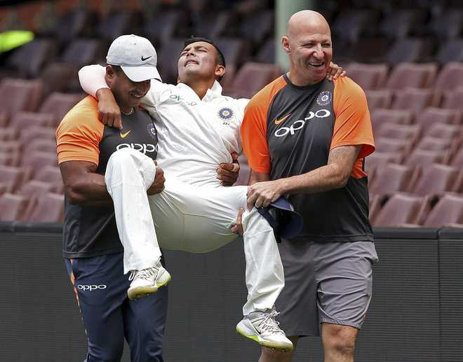 Shaw may be back for Boxing Day Test: Shastri