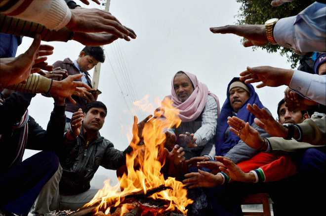 Cold wave continues in parts of J&K