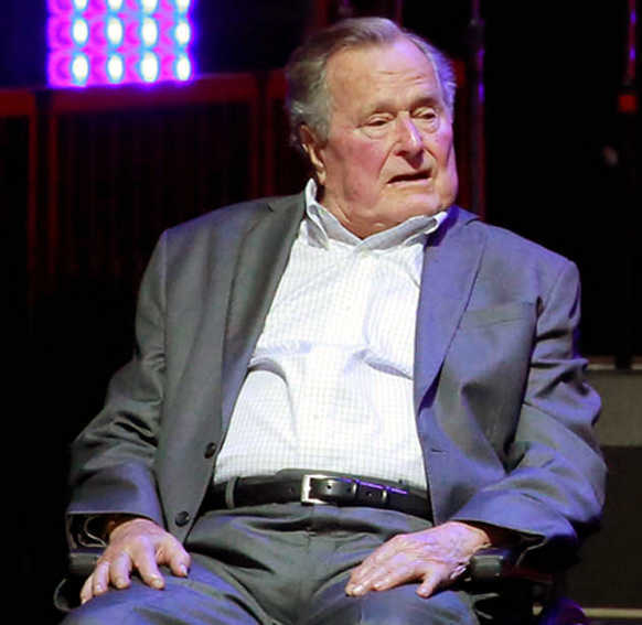 George HW Bush to be buried after four-day tribute