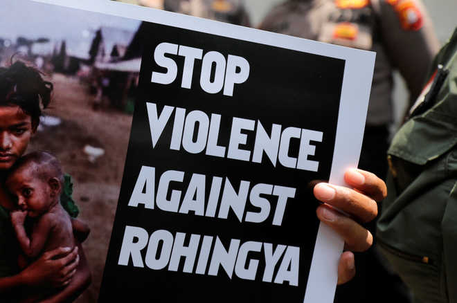 Bangladesh seeks action against Myanmar minister over Rohingya remark