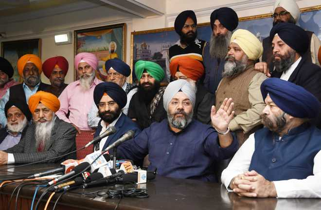 Manjit Singh GK resigns as DSGMC president