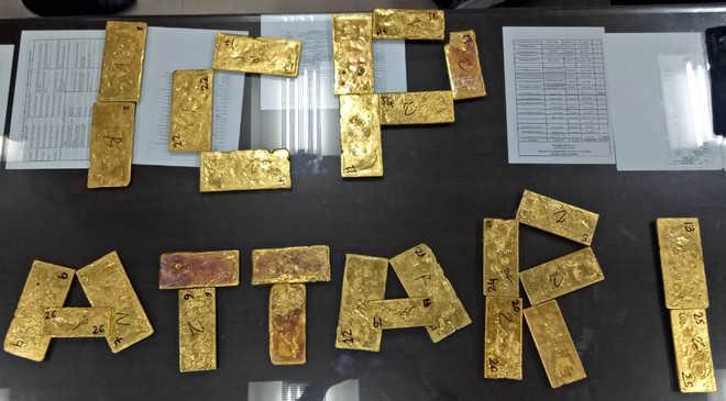 32-kg gold seized at Attari check-post