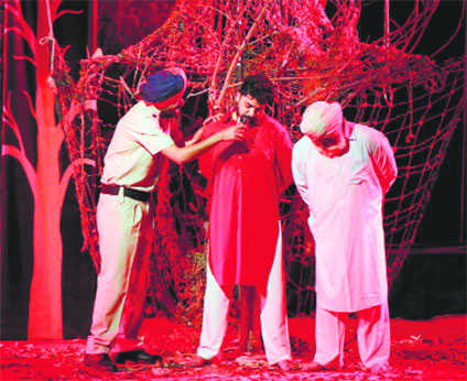 Play on communal issues staged