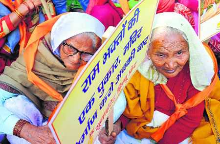 Crackers, grief, Babri anniv peaceful