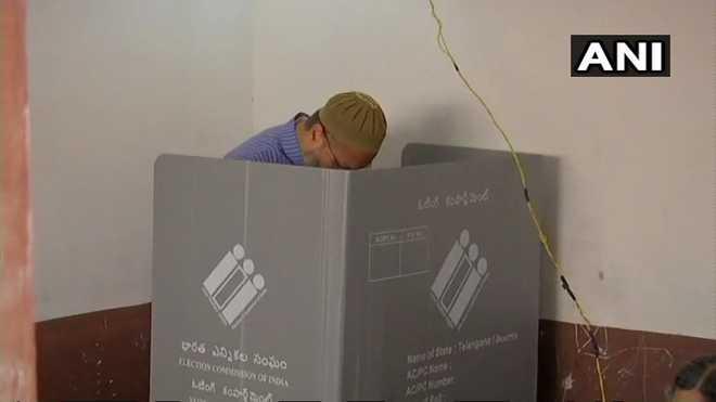 Telangana registers 67 per cent turnout