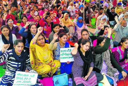 Police submit challan in Patiala court against agitating teachers' bodies