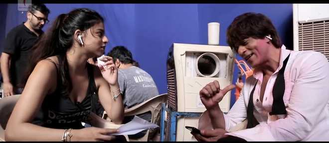 SRK hopes his daughter Suhana approves his performance in 'Mere Naam Tu'
