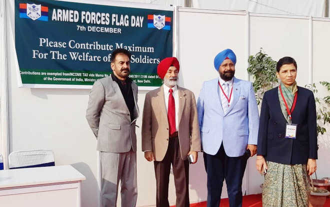 Armed Forces Flag Day observed