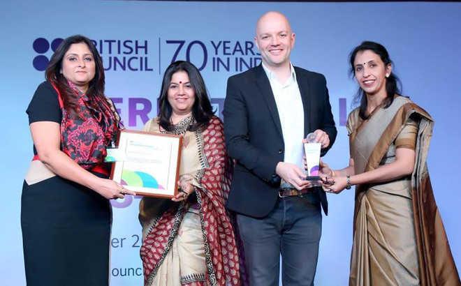 Sanskriti KMV School bags international award