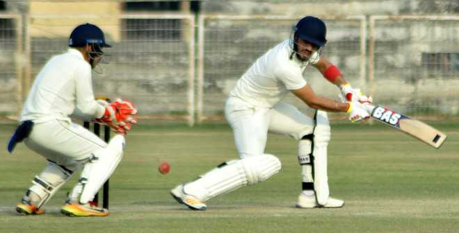 Tons by Ramandeep, Anmol put Punjab in commanding position