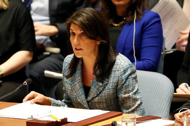 Pak continues to harbour terrorists, US should not give it even one dollar: Haley
