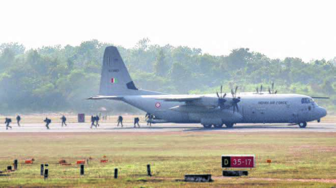 Indo-US air exercise to prepare for joint ops