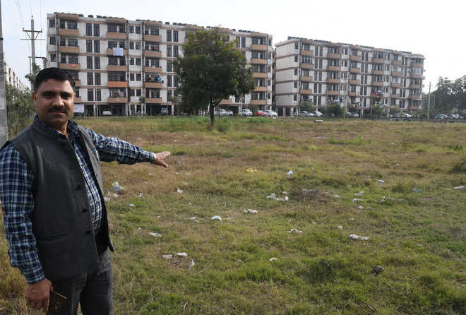 Sec 63 residents rue lack of amenities