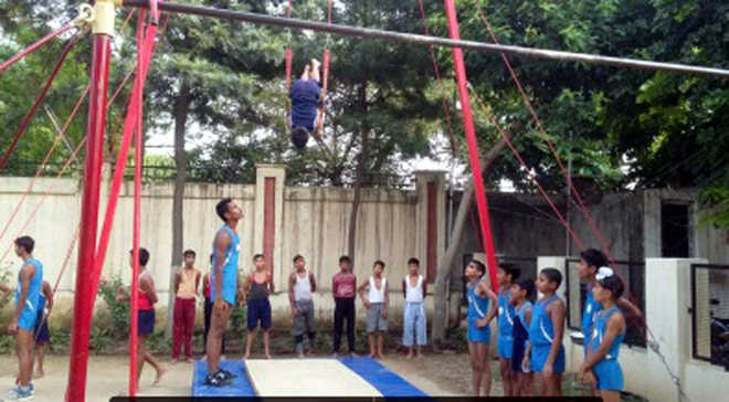 Arjun, Dailsy declared best gymnasts in U-14 tourney