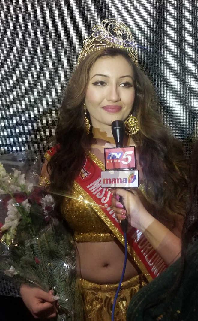 Punjab-origin girl wins Miss India Worldwide