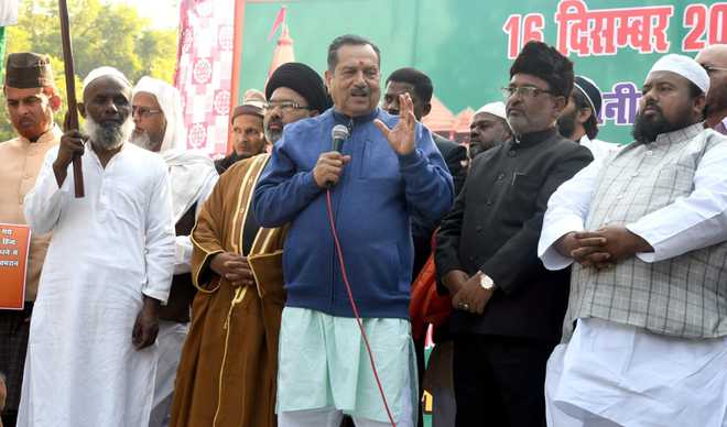 RSS-backed Muslim ''manch'' announces movement on Ram temple