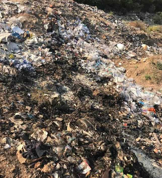 Solid waste dumping poses threat to Ghaggar water