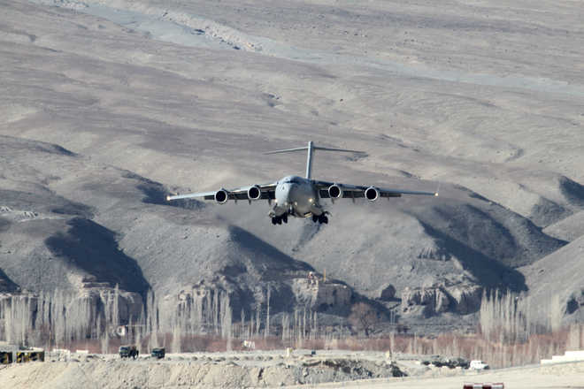 463 tonne airlifted in 6 hrs, IAF sets record