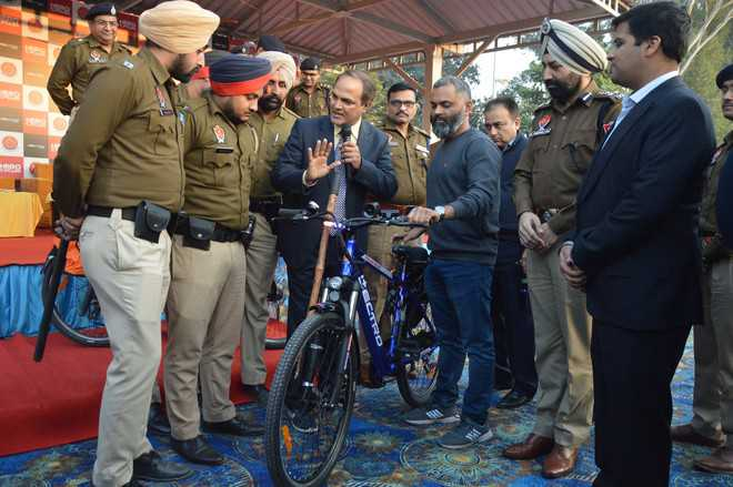 Punjab Police start pilot project to adopt electric bicycles