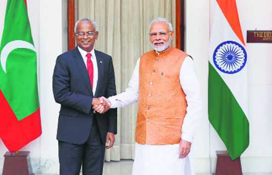 India, Maldives look to put ties back on track