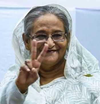 Hasina set to win record 4th term, Oppn for repoll