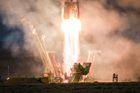 Russia's Soyuz MS-11 spacecraft carrying the members of the International Space Station (ISS) expedition 58/59, blasts off to the ISS from the launch pad at the Russian-leased Baikonur cosmodrome on December 3. AFP