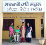 This teacher with disability awaits her right for long