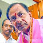 KCR to take oath today