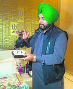 Sidhu in a spot over stuffed partridge gift