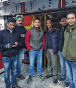 Relaxed after win, Rahul in Shimla
