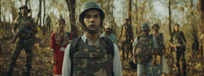Defamation cases against 'Newton' makers for showing 'CRPF in bad light'